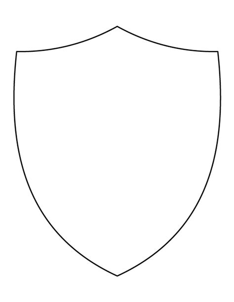 shield template pdf shield pattern use the printable outline for crafts