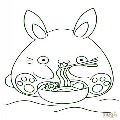 imagenes de kawaii para imprimir dibujo de conejo kawaii para colorear dibujos para