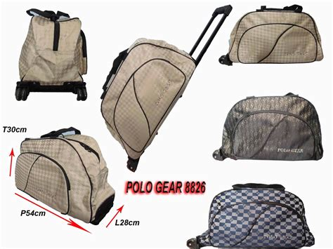 Tas Pakaian Troly Polo Classic tas trolley polo images