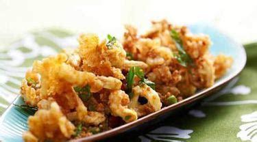 membuat jamur crispy  kudapan populer  indonesia