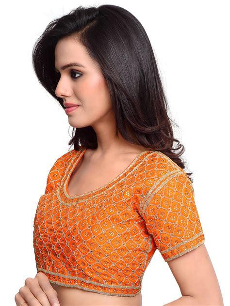 You Ve Net Lace Bra Blue orange blouse designs blue denim blouses
