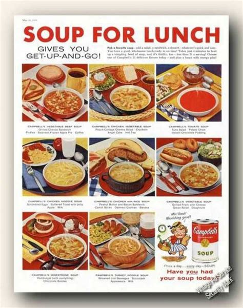 1950 s food vintage food advertisements of the 1950s page 5