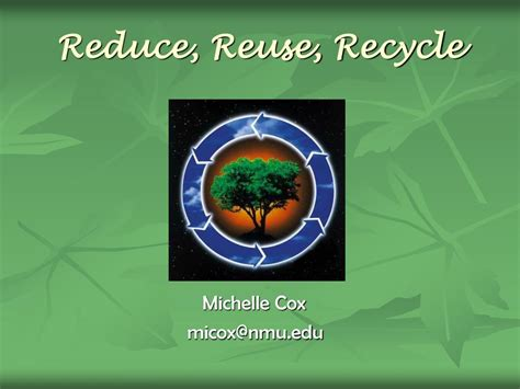 Ppt Reduce Reuse Recycle Powerpoint Presentation Id Reduce Reuse Recycle Ppt