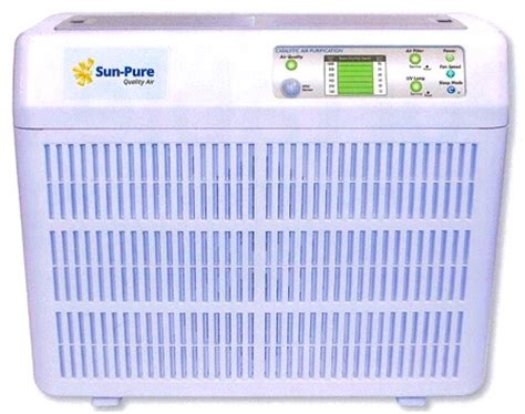 sun pure sp  air purifier filters  uv lamps