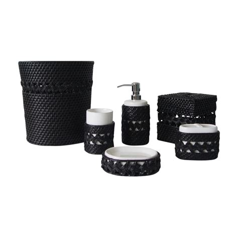 Bathroom Accessories Black Black Bathroom Accessories