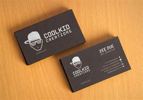 fancy business cards templates free psd free black textured business card design template mockup psd