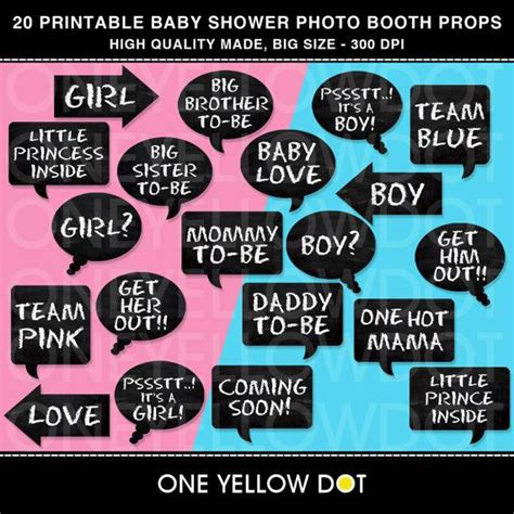 printable photo booth props baby shower free instant download baby shower party photo booth props
