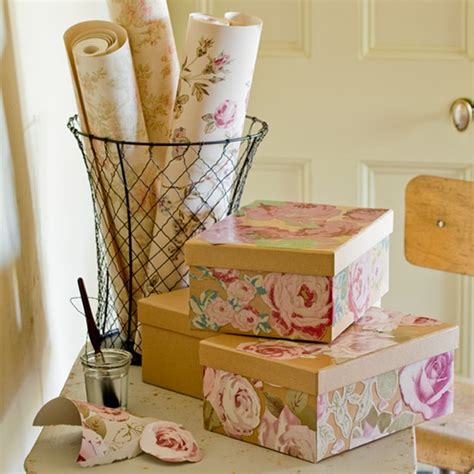 how to make a pretty decoupage box