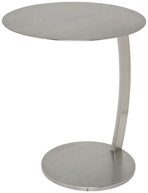 silver metal side table pria silver metal side table from nuevo coleman furniture
