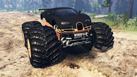 bugatti pickup bugatti veyron ss monster truck for spin tires