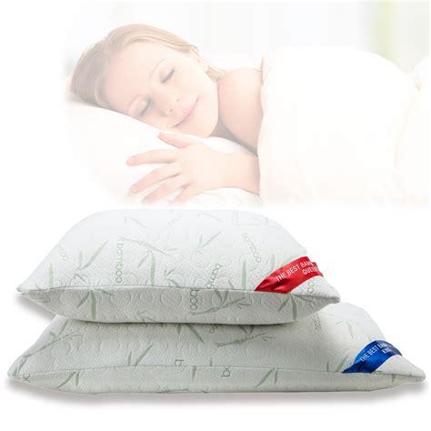 dreamfinity cooling gel bed pillow king size pillows memory foam bamboo memory foam pillow