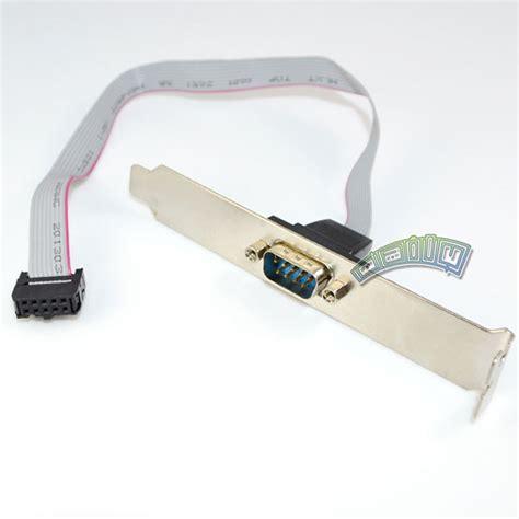 Konektor Serial Db9 Ke 9 Pin Motherboard serial 9 pin db9 rs232 motherboard port ribbon cable