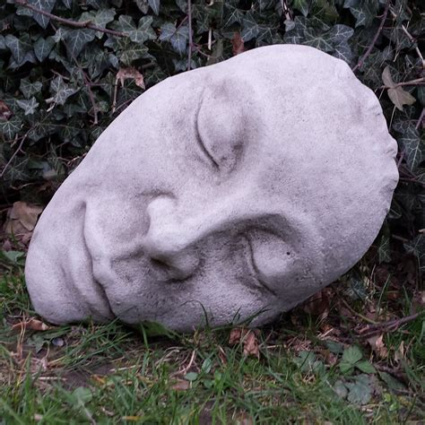 garden wall ornaments uk cast mask garden ornament onefold uk