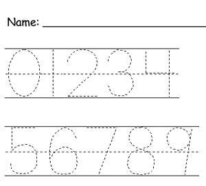 Learning To Write Numbers 1 10 Worksheets by 15 Best Images Of Writing Number 5 Tracing Worksheet