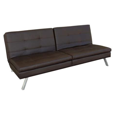 lifestyle solutions futons lifestyle solutions ellington futon brown target