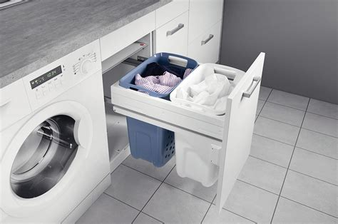 Hailo Laundry Basket With Full Extension In The H 228 Fele Hafele Laundry