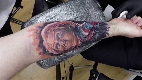 chucky portrait by adem youtube