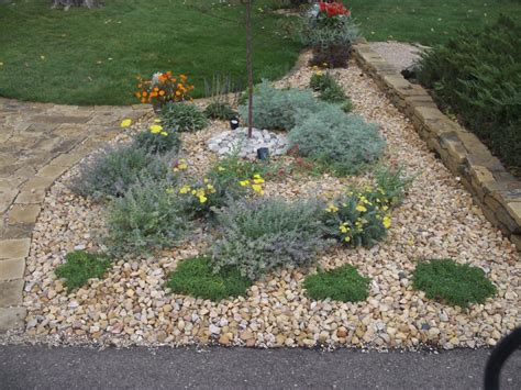 rock garden front yard easy diy landscaping build a rock