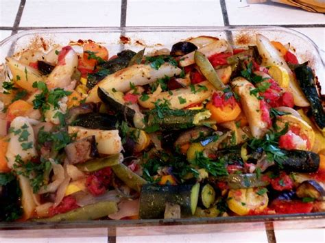 Roasted Garden Vegetables Garden Roasted Vegetables Traditional