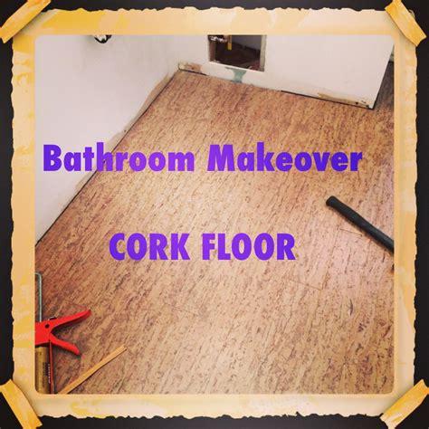 cork flooring for bathroom using cork flooring in a bathroom the decor girl