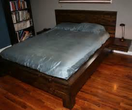 Platform Bed Instructables Black Wooden Bed With Six Sliding Storage Beside Placed On