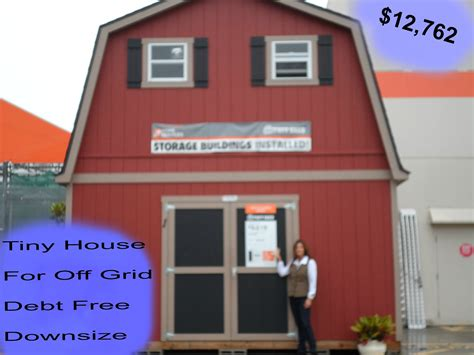 2 floor shed house for debt free living with plenty of