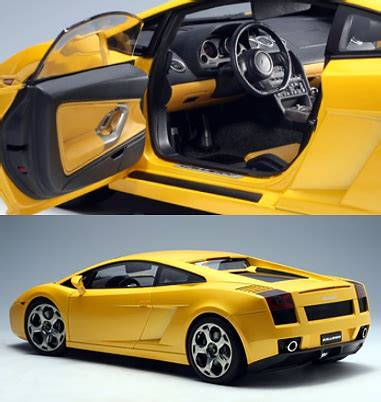 Lamborghini Gallardo Model Car Lamborghini Gallardo Diecast Model Car By Autoart 12091