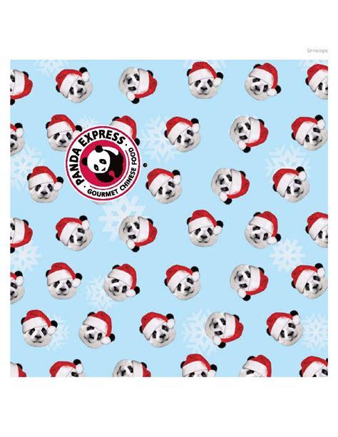 Panda Express Digital Gift Card - panda express social media justin sanders portfolio
