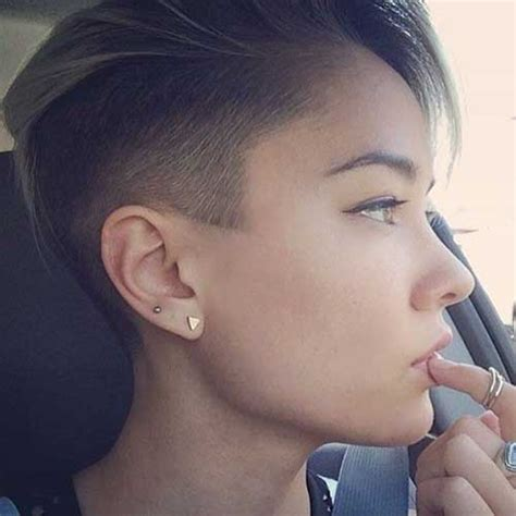 womens haircut with short sides 15 short razor haircuts short hairstyles 2016 2017