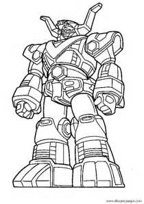 dibujos colorear los power ranger samurai imagui