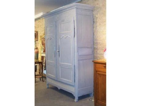 Armoire Patinée by Armoire With A Bleu Patina Regency Period Style