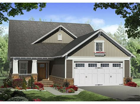 Narrow Lot House Plans With Front Garage Plan 001h 0183 Find Unique House Plans Home Plans And Floor Plans At Thehouseplanshop