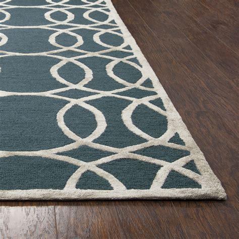 circular area rugs circular trellis wool area rug in teal silver 8 x 10