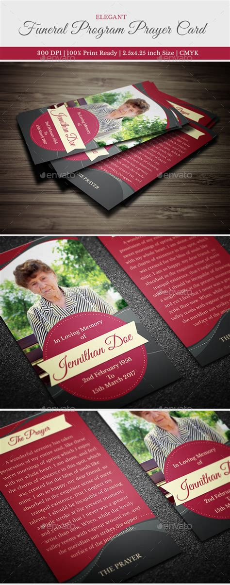 http graphicriver net item funeral service business card template 10998645 funeral prayer card template by creativesource