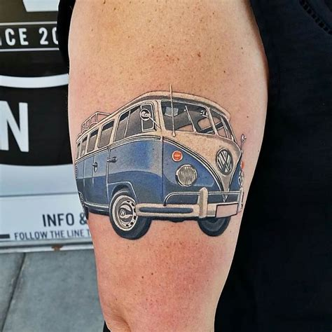 vw bus tattoo 22 best images about on e