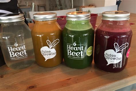 Detox Juice Seattle by Bizx Heartbeet Cafe 7 Day Complete Juice Cleanse