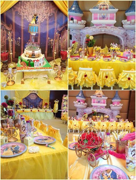 Beauty And The Beast Party Decoration Ideas   Jemsslie