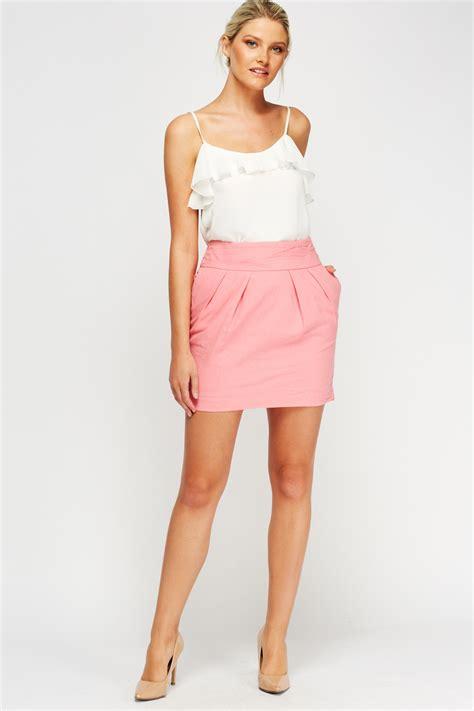 light pink mini skirt pink mini skirt just 163 5