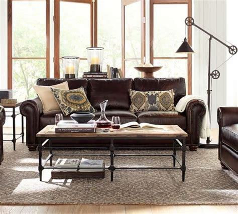 Pottery Barn Leather Sofas Pottery Barn Leather Sofas And Sectionals Sale 20 Must Sofas Sectionals Armchairs
