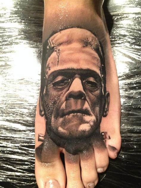 monster tattoo quebec frankensteins monster on foot by meehow at no regrets