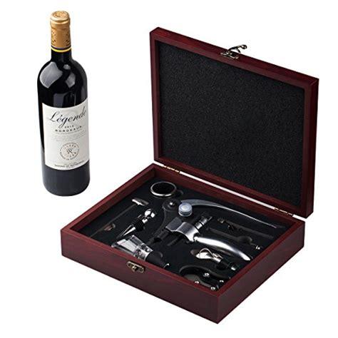 cooko rabbit wine opener set manual wine bottle opener kit with aerator zinc alloy handle