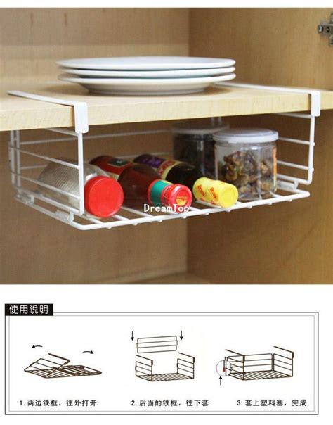 Cheap Spice Racks For Kitchen cheap wholesale shelf wire rack storage organizer kitchen cabinet spice boxes jars pantry