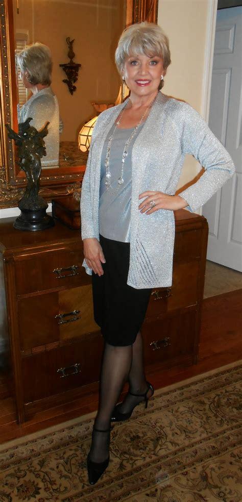 elderly women dresses and heels fifty not frumpy the opera coat