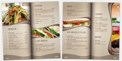 restaurant menu cafe design 10 restaurant menu ideas pos sector