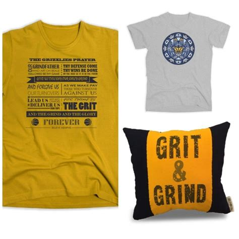 Grind Pillow by Grit Grind Where To Buy Grizzlies T Shirts In