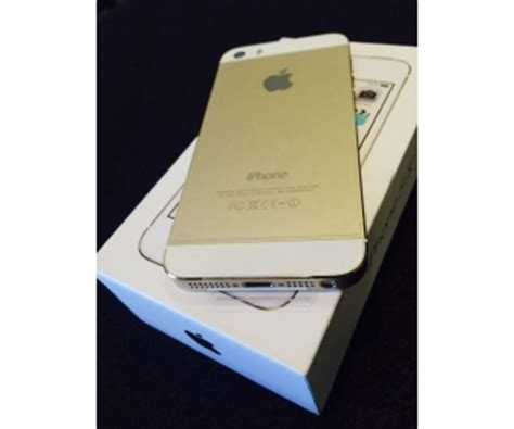 apple iphone 5 s or gold occasion 224 vendre
