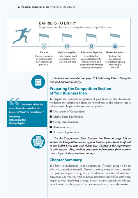 effective business plan template planningshop