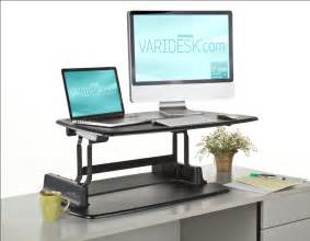 Adjustable Standing Sitting Desk by The Varidesk Is Available In The Uk Amp Europe