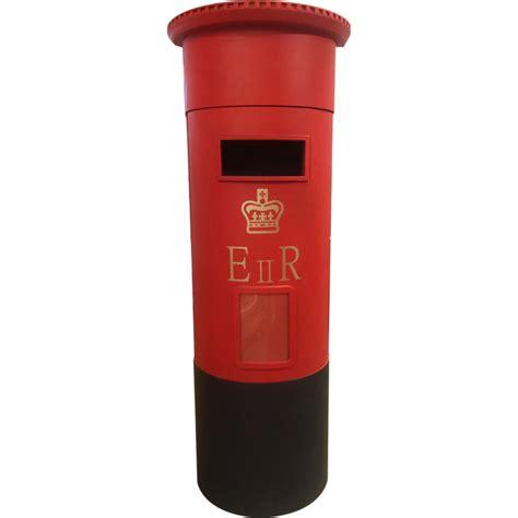 The Letter Box floor standing pillar box style letter box