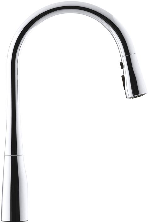 Kohler Simplice Single Hole kohler k 596 cp simplice single hole pull down kitchen